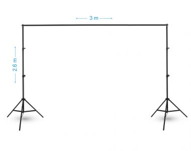 Khung treo phông nền (3 x 2.6m) chụp ảnh gấp gọn di động