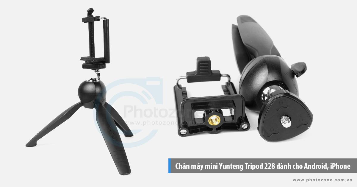 Chân máy mini Yunteng Tripod 228 dành cho Android, iPhone