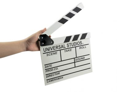 Bảng gỗ Clapper Board đạo cụ chụp ảnh quay phim