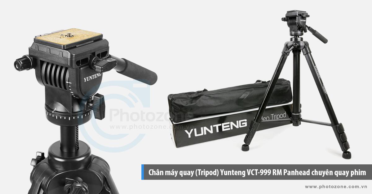 Chân máy quay (Tripod) Yunteng VCT-999RM Panhead chuyên quay phim