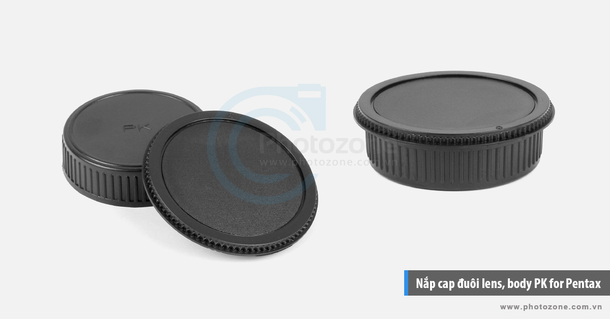Nắp cap đuôi lens, body PK for Pentax