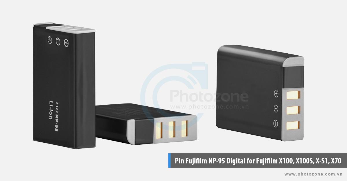 Pin Fujifilm NP-95 Digital for Fujifilm X100, X100S, X-S1, X70