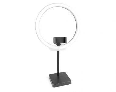 Đèn LED Ring RL-10 inch để bàn siêu sáng Live Streams, Make up