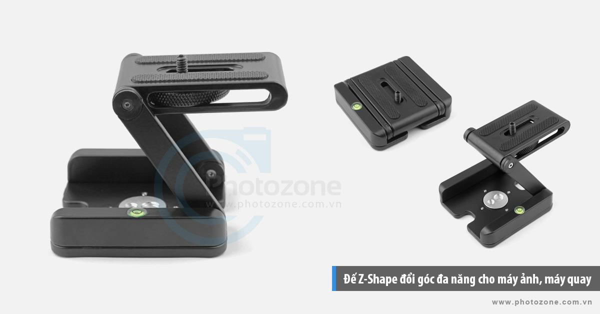 Đế Z-Plate (Z-Shape) đổi góc đa năng cho máy ảnh, máy quay