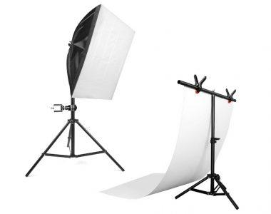 Bộ phông đèn chụp sản phẩm Softbox 50x70cm LED 40W