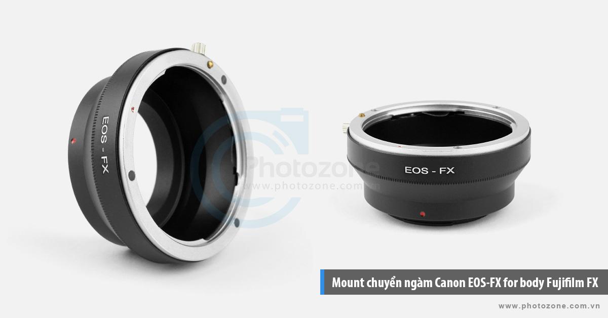 Mount chuyển ngàm Canon EOS-FX for body Fujifilm FX