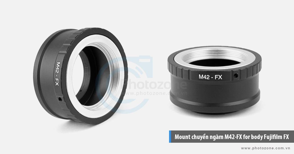 Mount chuyển ngàm M42-FX for body Fujifilm FX