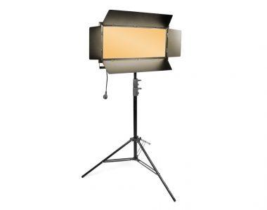 Bộ đèn quay phim Kino Led ánh sáng vàng (3200K) chuyên nghiệp kèm chân đèn 2.8m