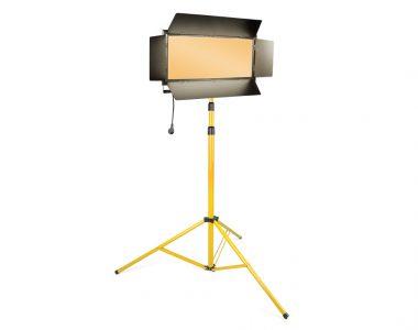 Bộ đèn quay phim Kino Led ánh sáng vàng (3200K) chuyên nghiệp kèm chân đèn 3m
