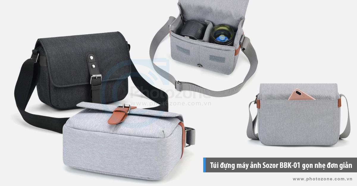 Túi đựng máy ảnh Sozor BBK-01 gọn nhẹ đơn giản