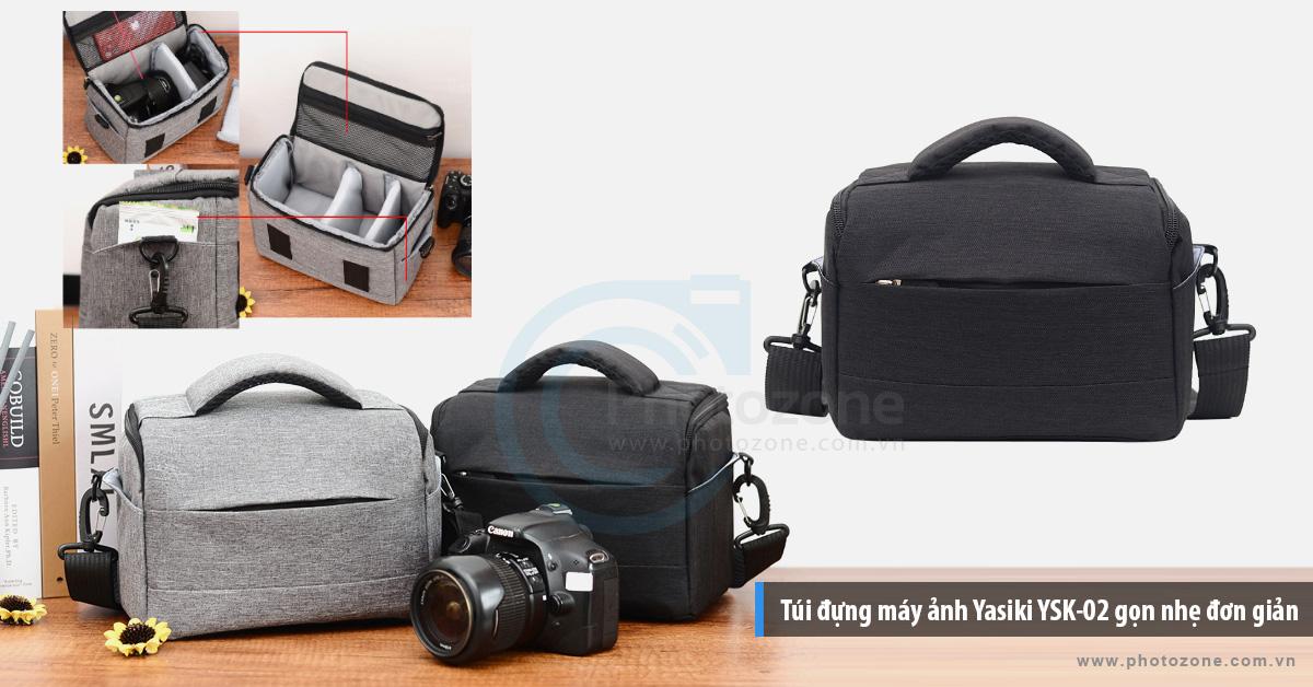 Túi đựng máy ảnh Yasiki YSK-02 gọn nhẹ đơn giản