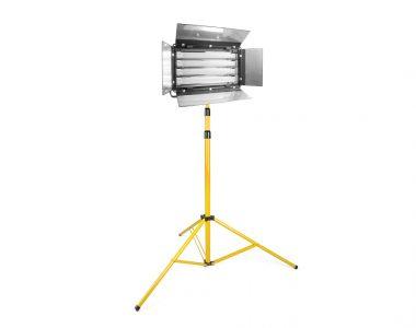 Bộ đèn quay phim Kino 4 bóng Led ánh sáng trắng (5600K) chuyên nghiệp kèm chân đèn 3m