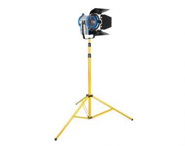 Bộ đèn quay phim Spotlight 650W ánh sáng ấm (3200K) chuyên nghiệp kèm chân đèn 3m