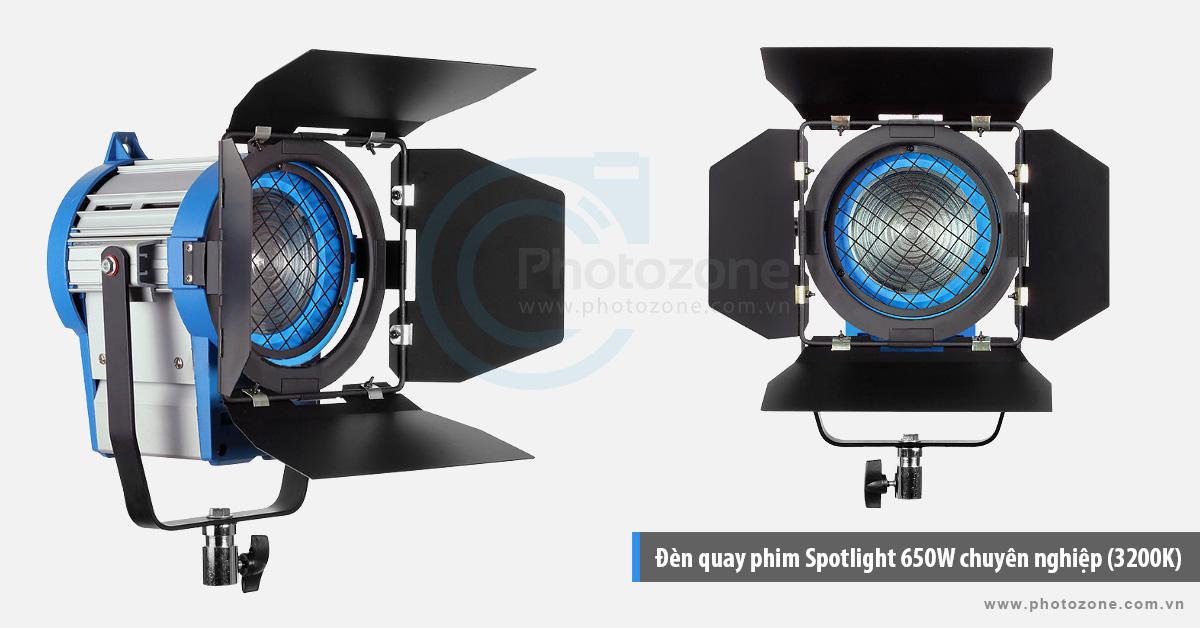 Đèn quay phim Spotlight 650W chuyên nghiệp (3200K)